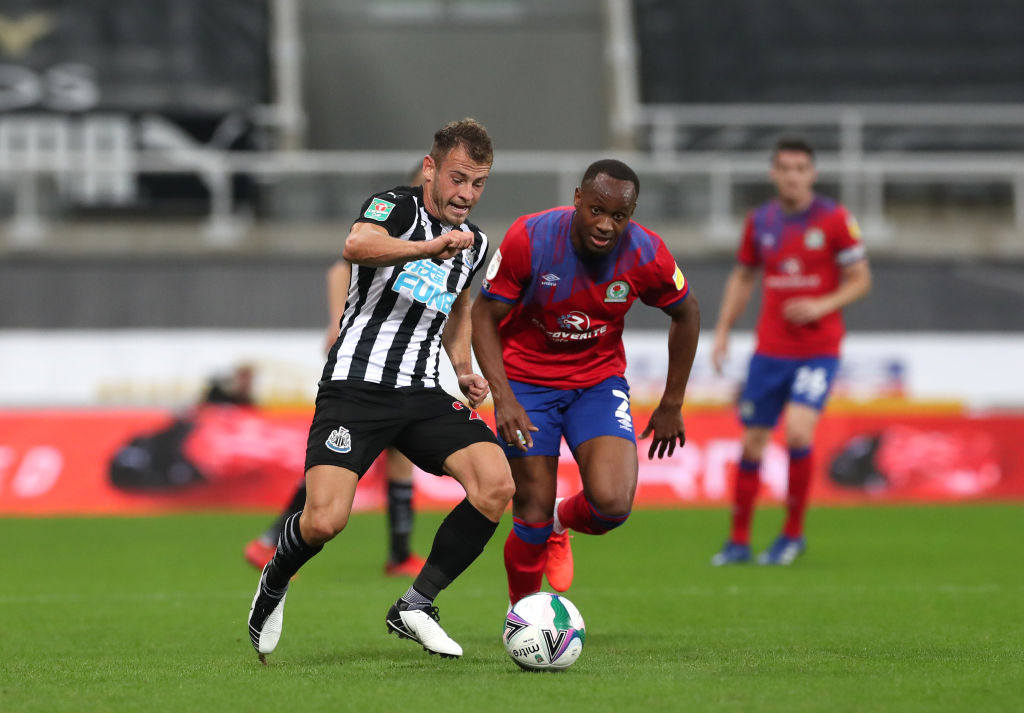 Newcastle United v Blackburn Rovers - Carabao Cup Second Round