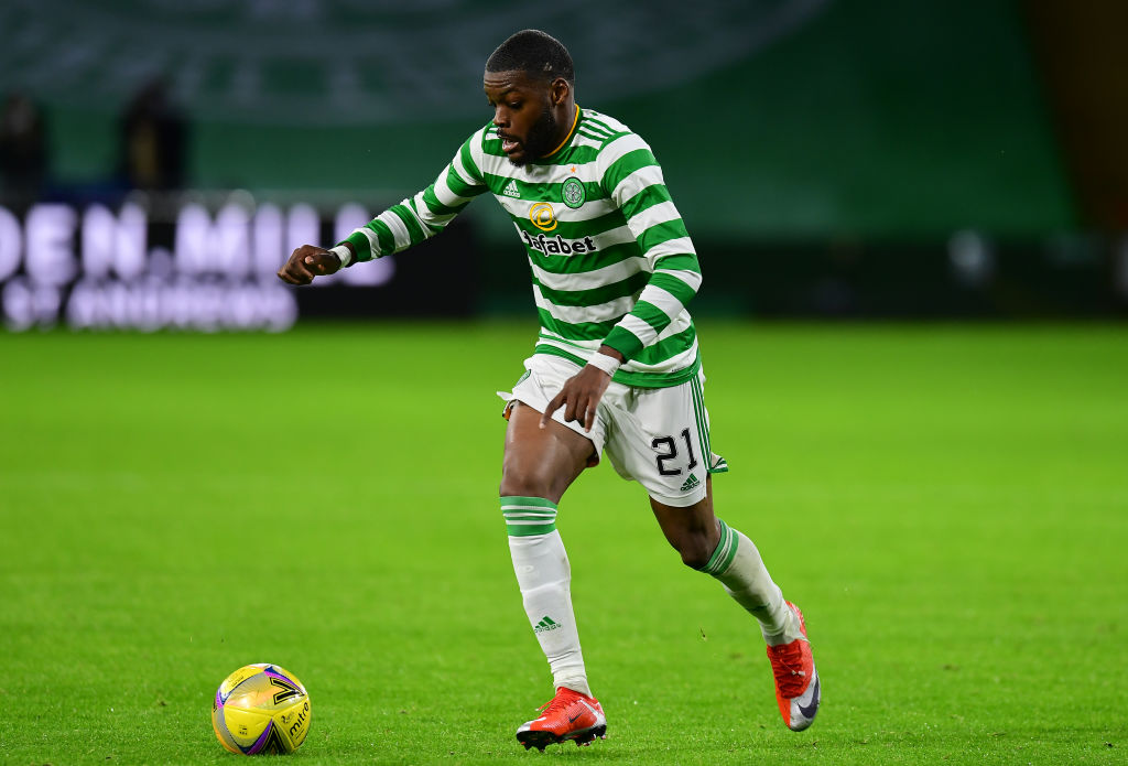 Celtic star Olivier Ntcham could reportedly leave, but needs the Hoops to approve his exit