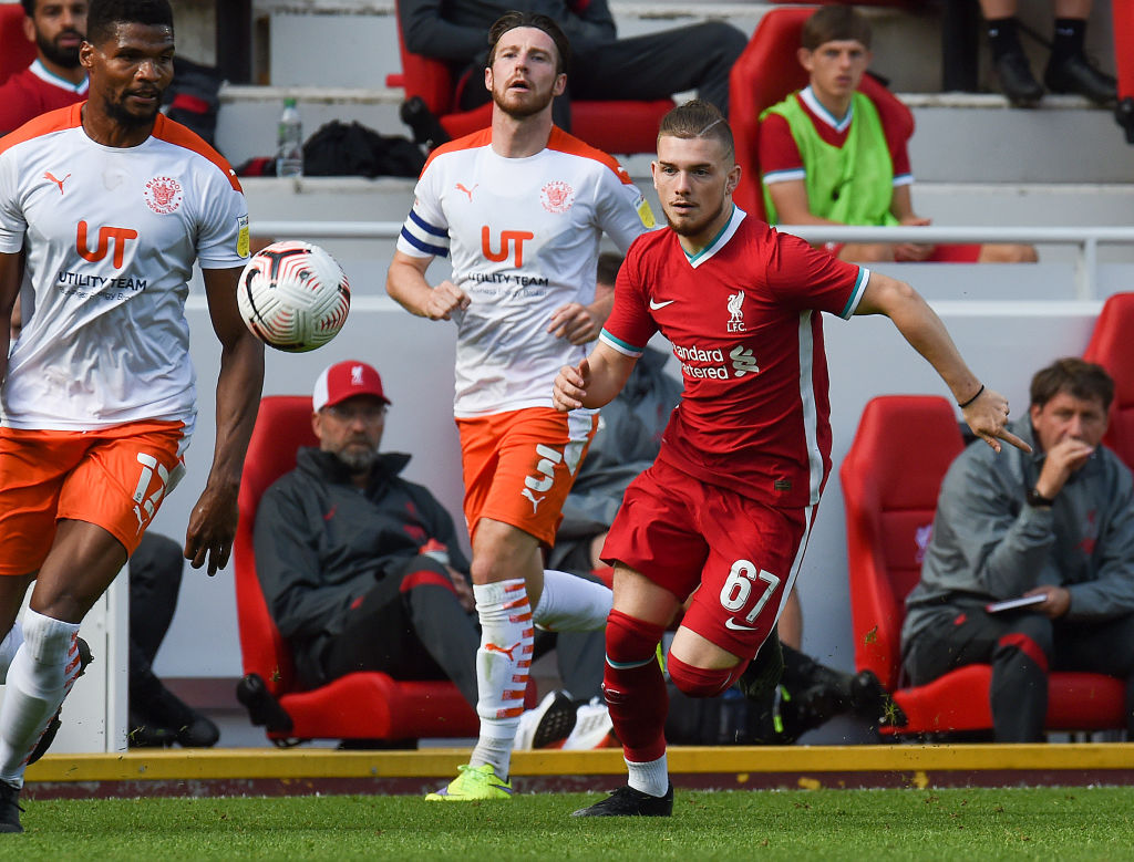 Needs to play this year': Some Liverpool fans in awe of youngster's 'phenomenal' display today - The Boot Room