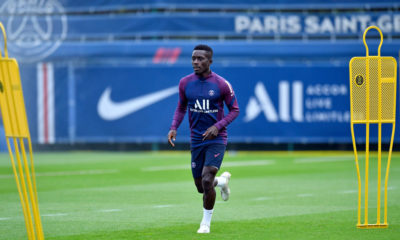 Paris Saint-Germain Training Session