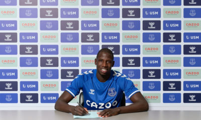 Everton Unveil New Signing Abdoulaye Doucoure