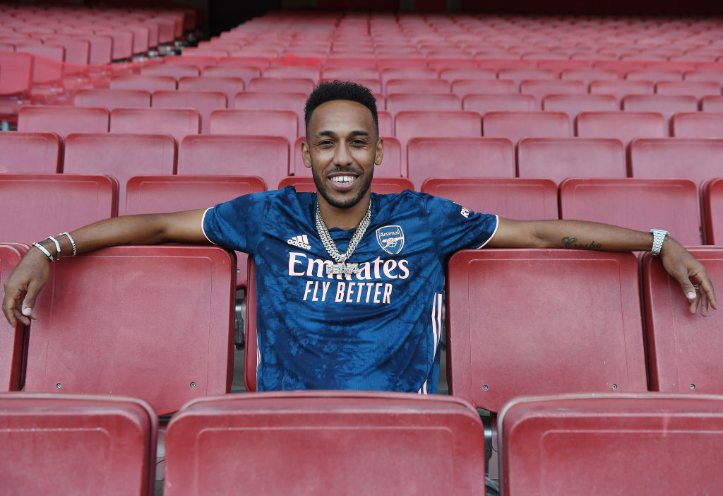 Arsenal Announce a New Contract for Pierre-Emerick Aubameyang