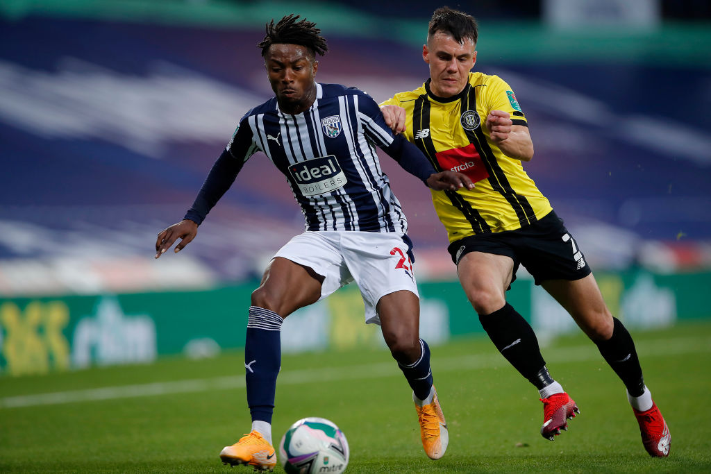 West Bromwich Albion v Harrogate Town - Carabao Cup Second Round