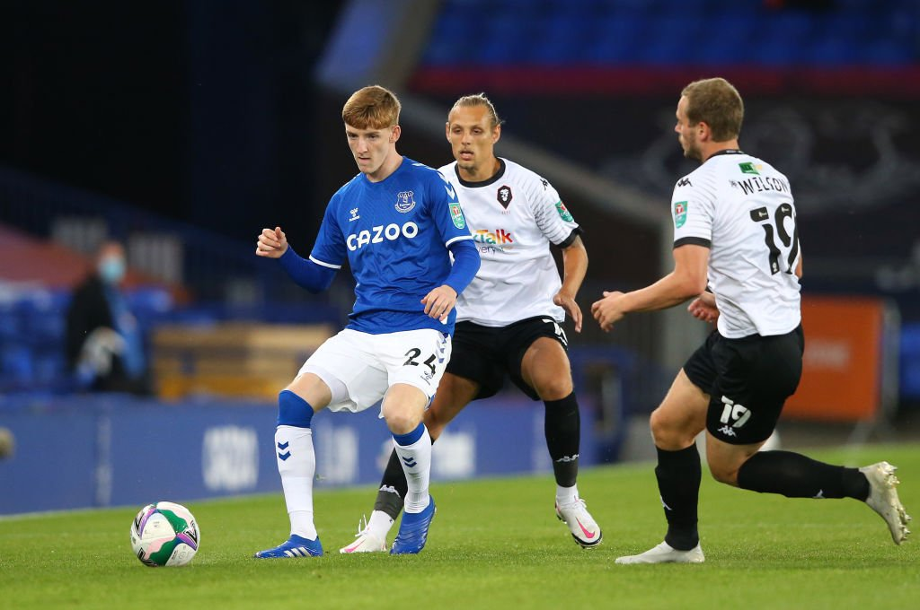 Everton v Salford City - Carabao Cup Second Round