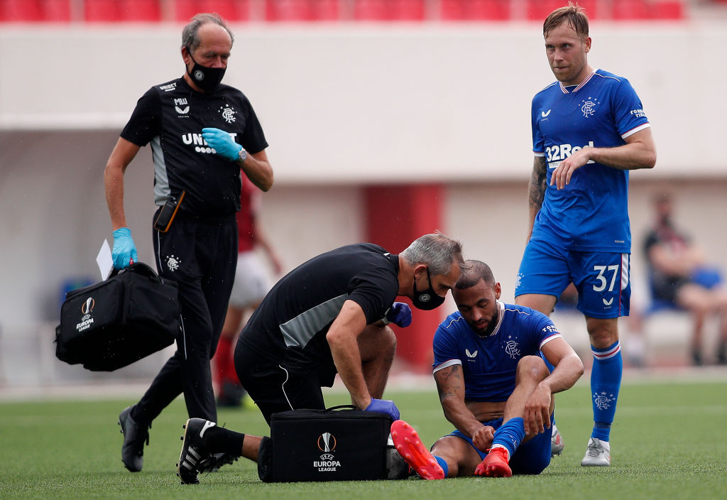 'There is an issue': Steven Gerrard discusses fitness of Rangers forward