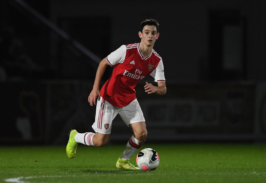 Arsenal youngster Charlie Patino