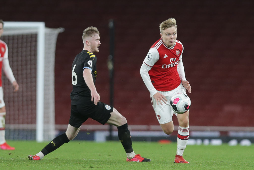 Arsenal U23 v Manchester City U23 - Premier League 2