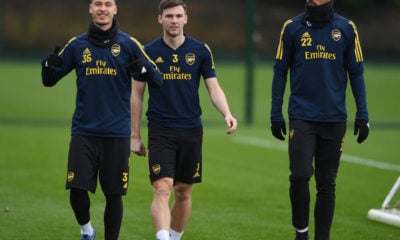 Arsenal Training and Press Conference