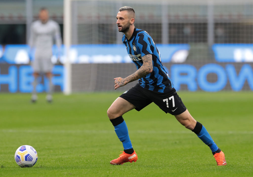 Marcelo Brozovic in action for Inter Milan last season and is wanted by Spurs and Manchester United.