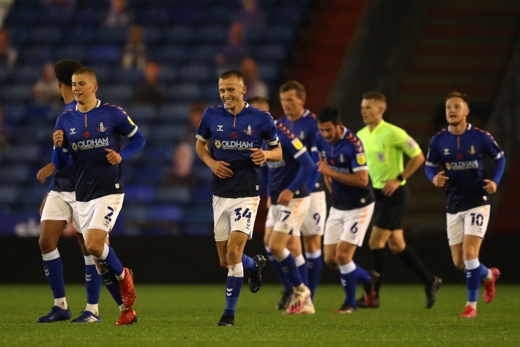 Oldham Athletic v Cheltenham Town - Sky Bet League Two