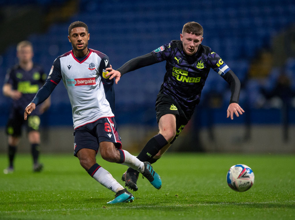 Bolton Wanderers v Newcastle United U21 - EFL Trophy