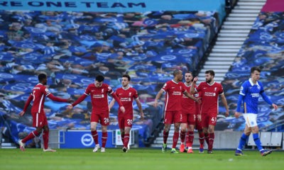 Brighton & Hove Albion v Liverpool - Premier League