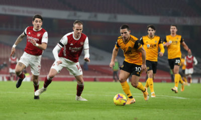 Arsenal v Wolverhampton Wanderers - Premier League