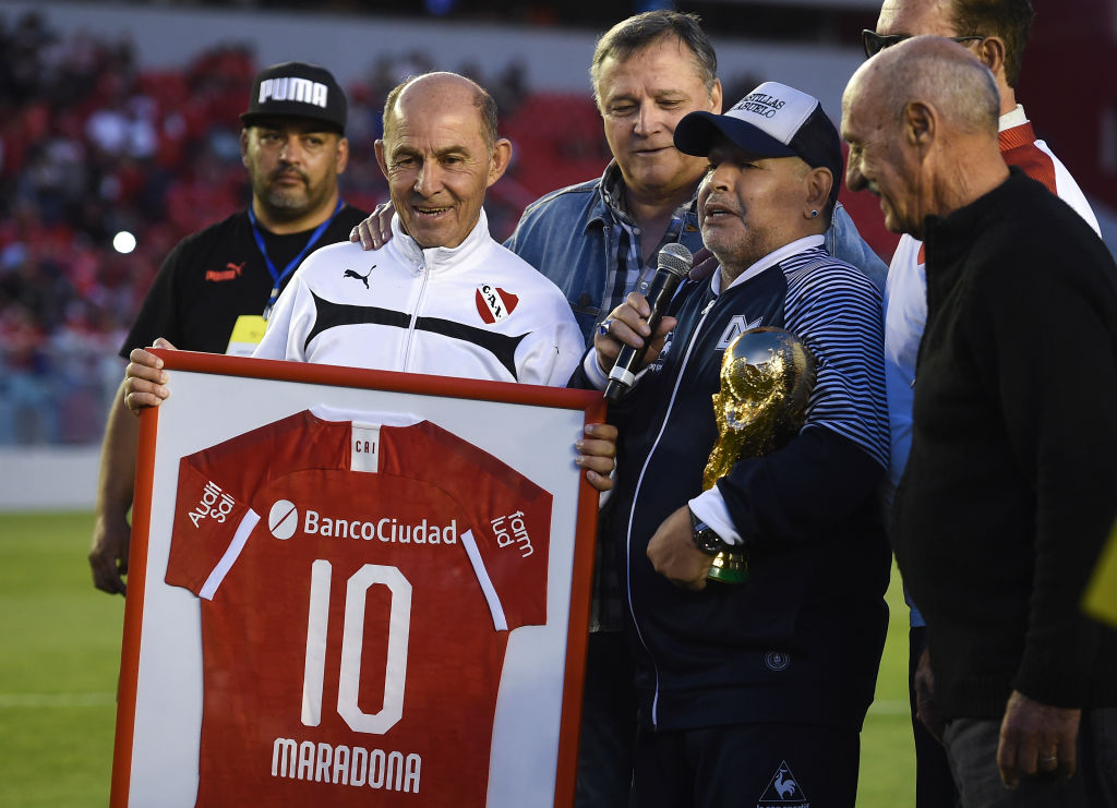 Independiente v Gimnasia Y Esgrima La Plata - Superliga 2019/20