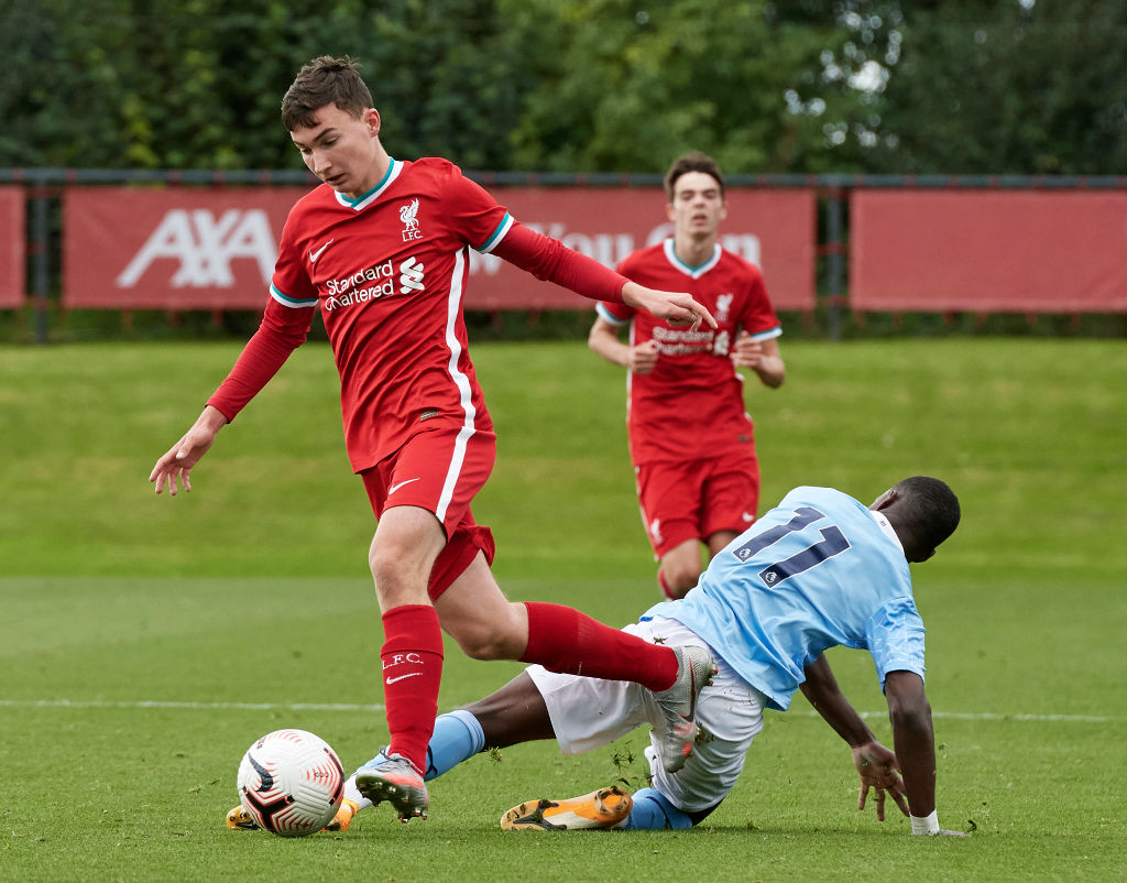 Carols Borges has been in outstanding form this season for Manchester City at U-18 level.