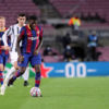 Samuel Umtiti of Fc Barcelona  in action during  the UEFA