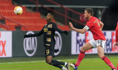 Standard Liege v SL Benfica: Group D - UEFA Europa League