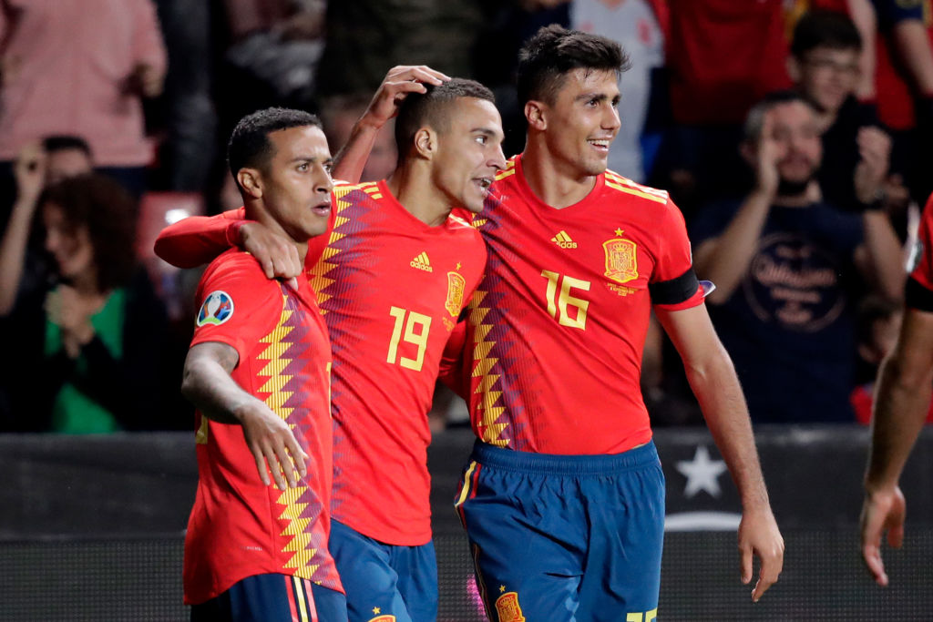 Spain  v Faroe Islands  -EURO Qualifier