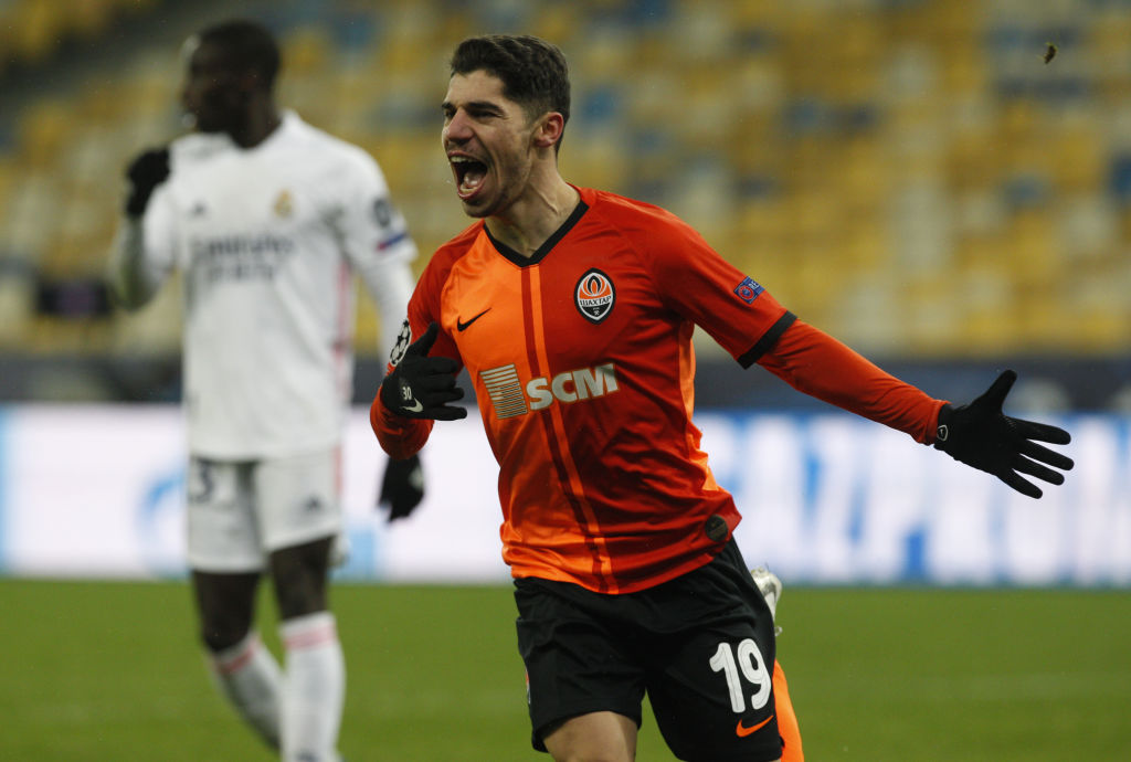 Manor Solomon has been in fine form for Shakhtar Donetsk.