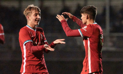 Liverpool v Burnley: U18 Premier League