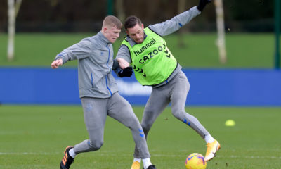 Everton Training Session