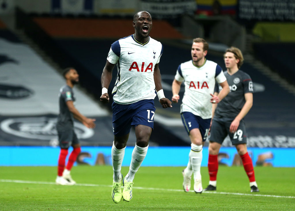 Spurs midfielder Moussa Sissoko is reportedly a transfer target for Napoli