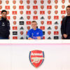New Contract Signing at Arsenal
