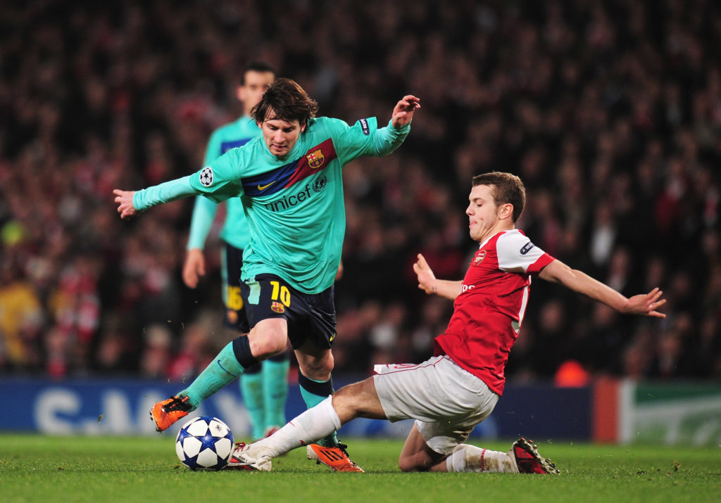 Jack Wilshere has experience playing in the UEFA Champions League.