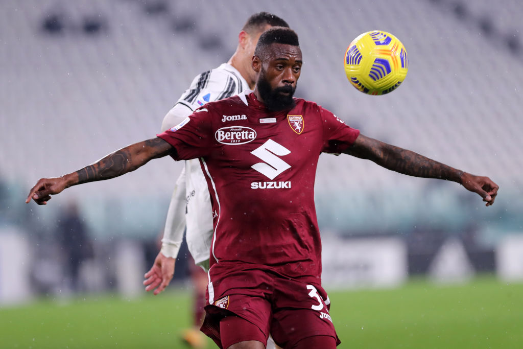 Nicolas N'Koulou of Torino Fc  in action during the Serie A