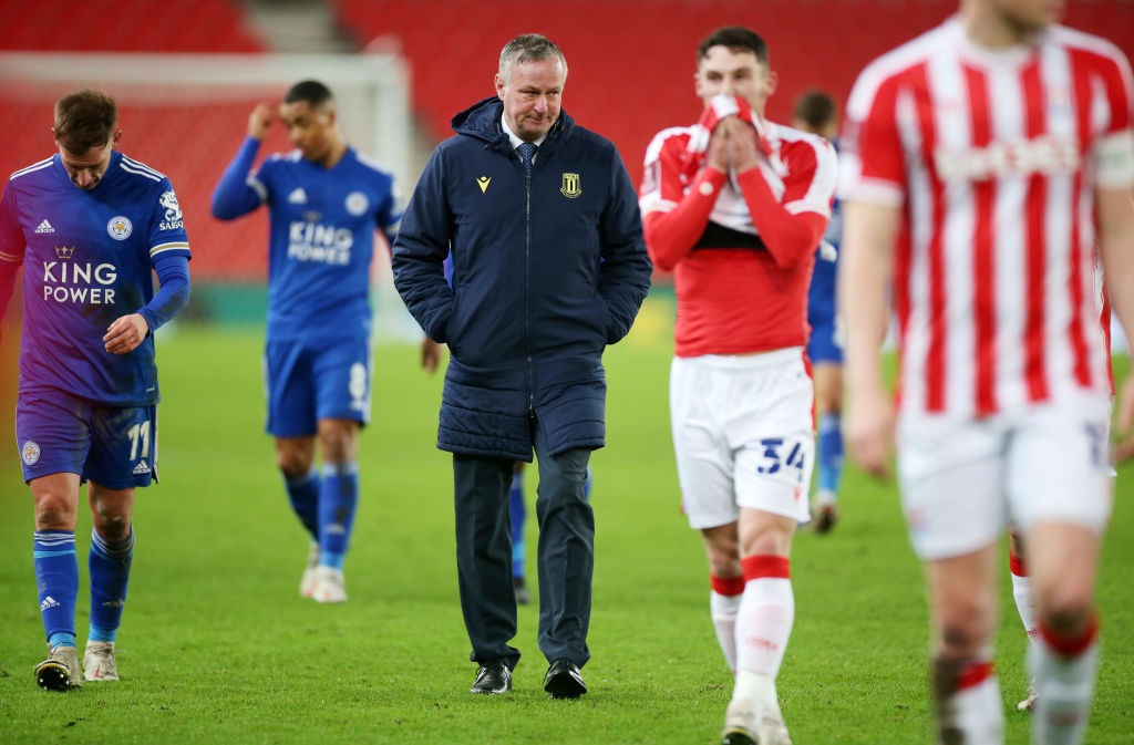 Stoke City v Leicester City - FA Cup Third Round