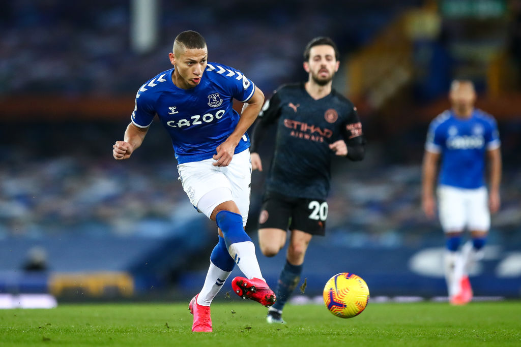 Everton forward Richarlison is wanted by Carlo Ancelotti at Real Madrid