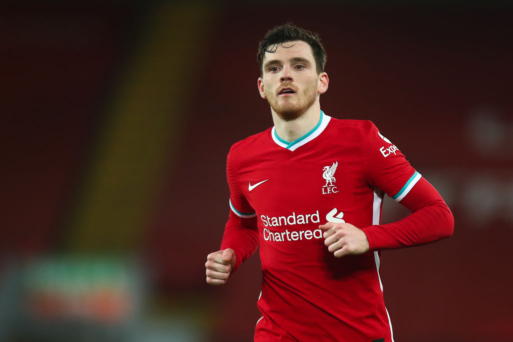 Andrew Robertson has signed a new contract at Liverpool