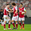 Arsenal FC v SL Benfica  - UEFA Europa League Round Of 32 Leg Two