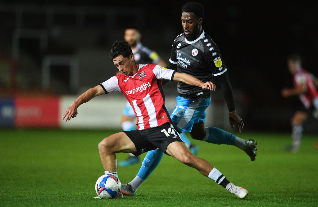 Exeter City v Crawley Town - Sky Bet League Two