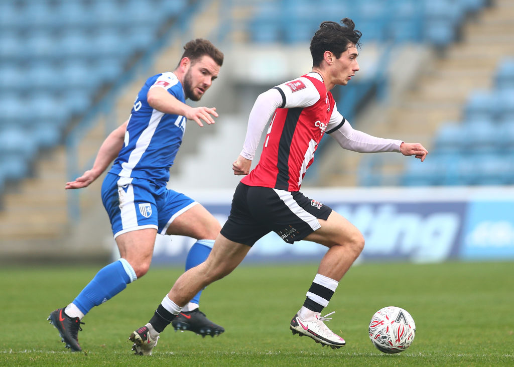 Gillingham v Exeter City - FA Cup Second Round