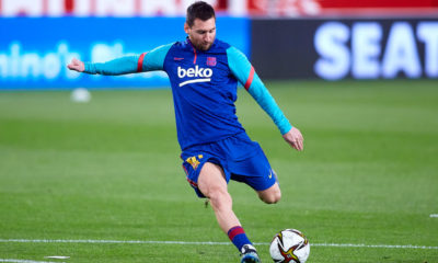 Sevilla v FC Barcelona: Copa del Rey Semi Final First Leg