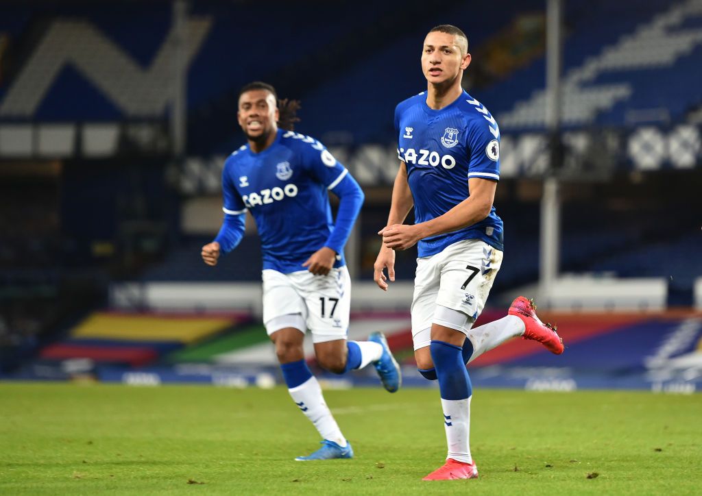 Everton fans have discussed Richarlison as Carlo Ancelotti eyes a move