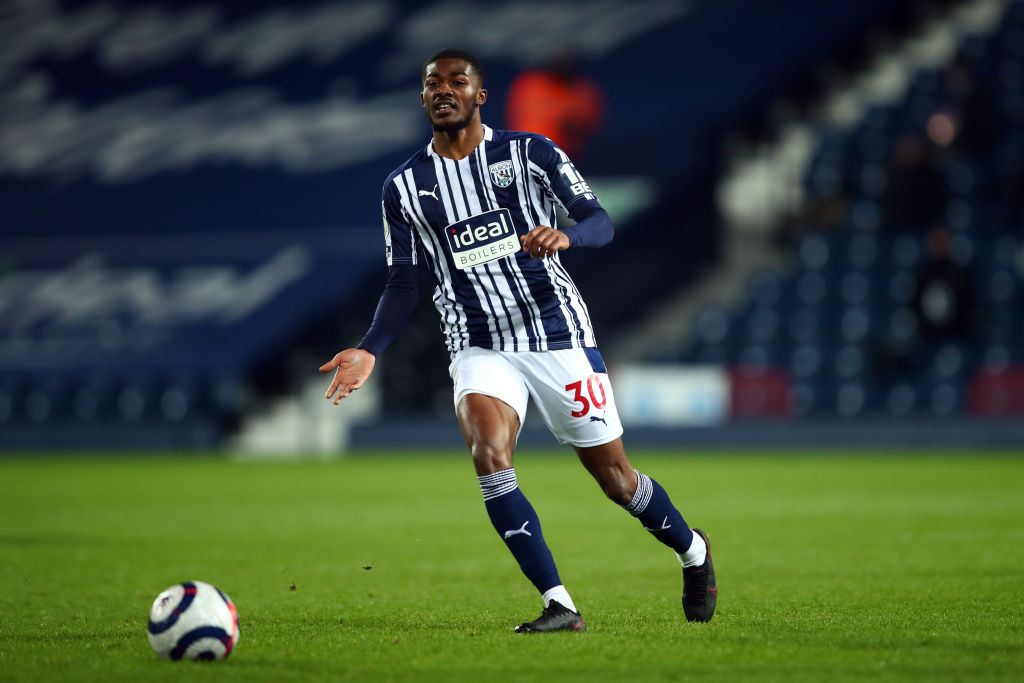 The England international impressed on loan with West Bromwich Albion.