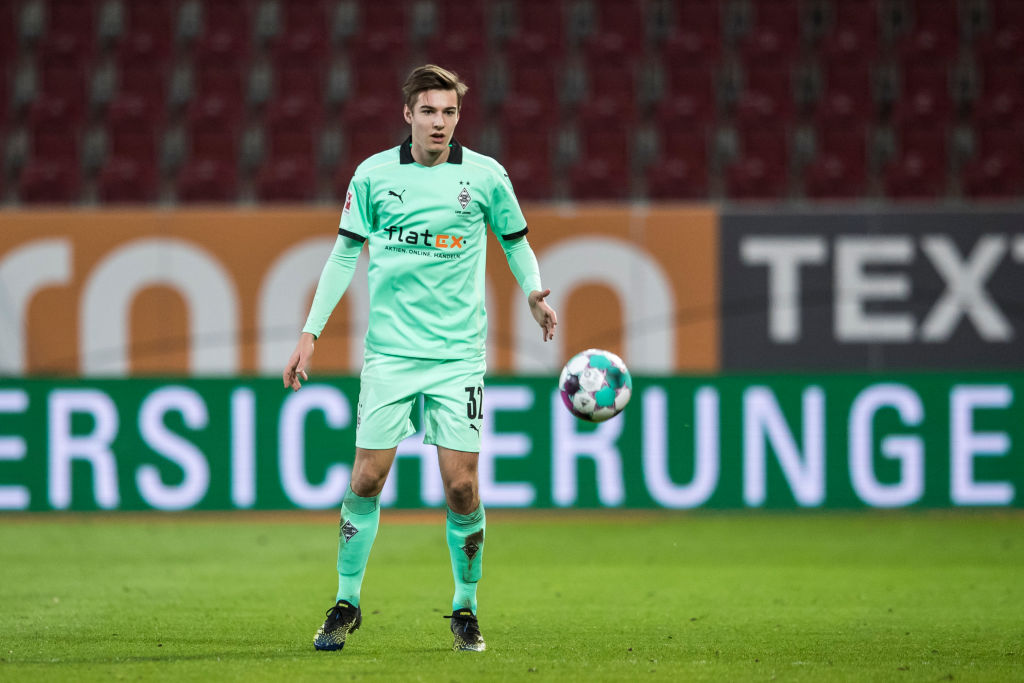 Florian Neuhaus was reportedly a target for Liverpool this summer.