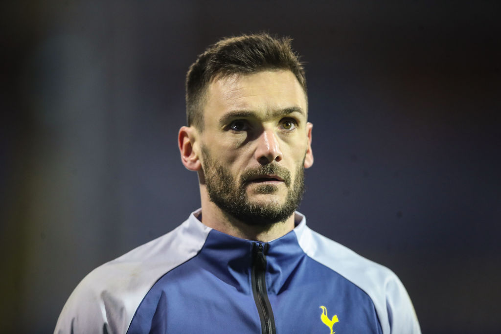 Hugo Lloris' contract with Spurs expires next summer