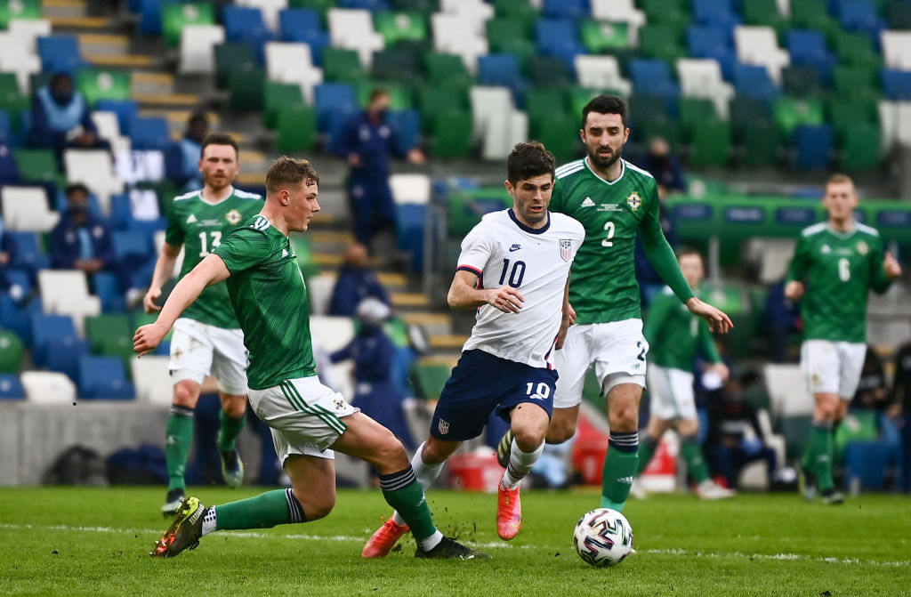 Northern Ireland v USA - International Friendly