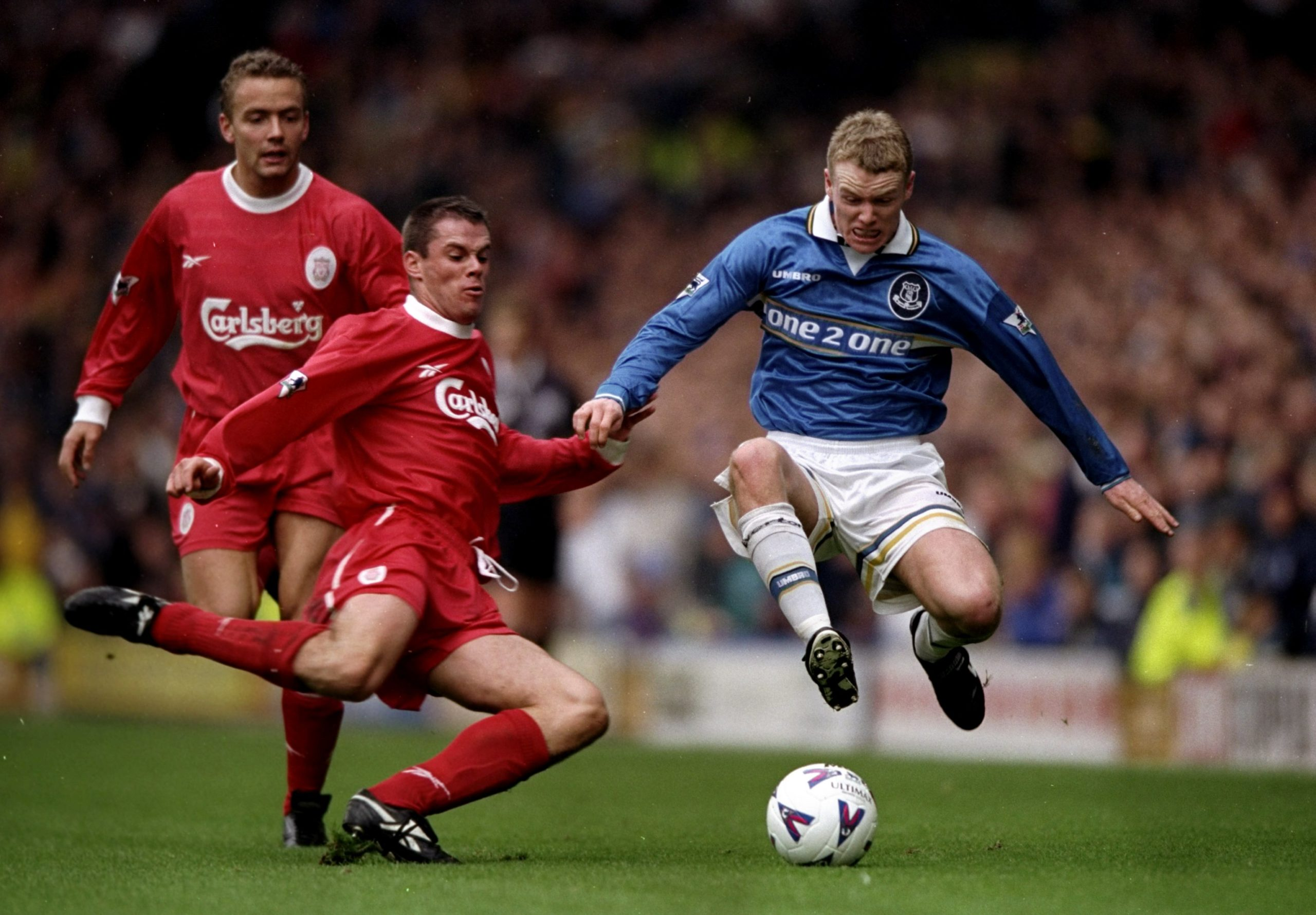 Michael Ball and Jamie Carragher