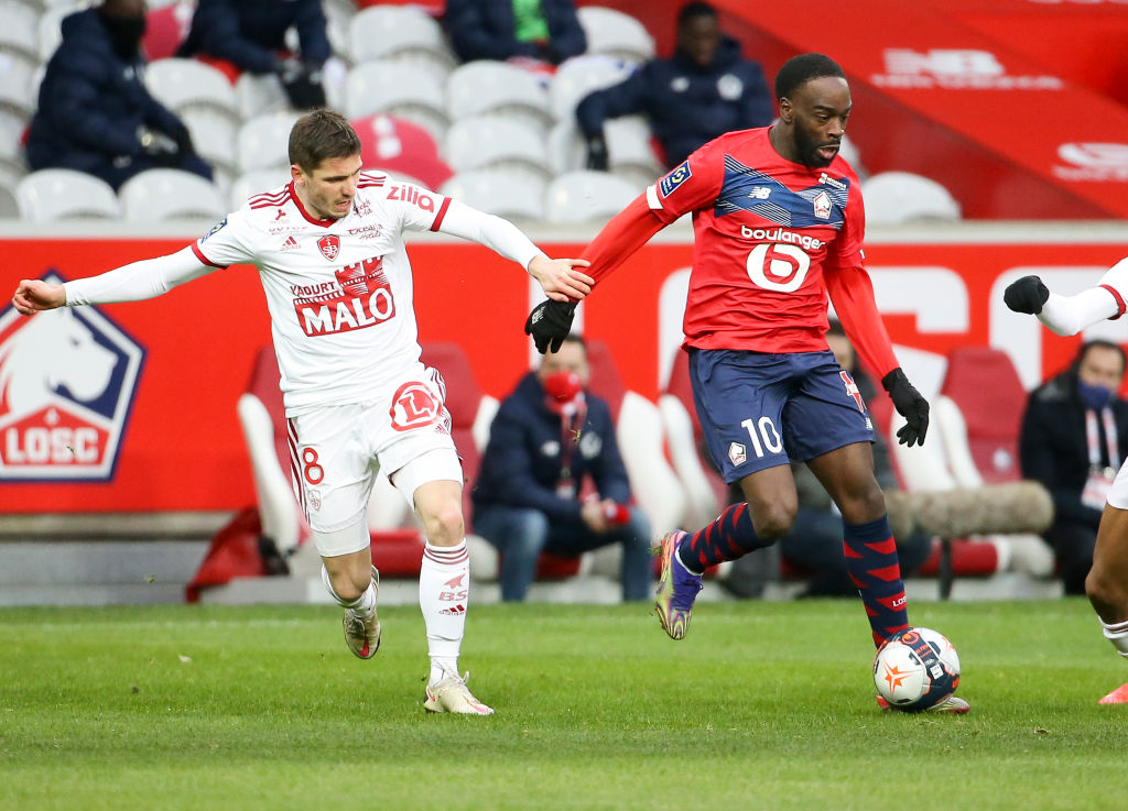Leeds have been linked with Romain Perraud as they search for a new left-back in the transfer window