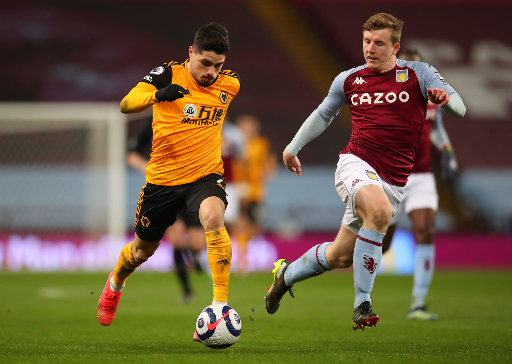 'Where would we be without?': Some Wolves fans applaud star's display in 0-0 Aston Villa draw
