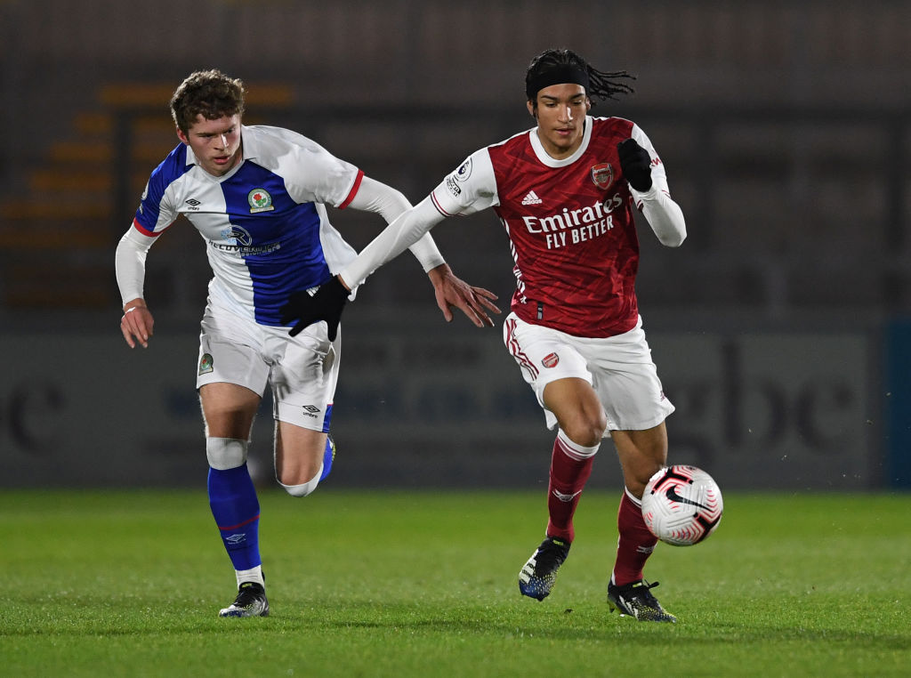 Arsenal starlet Kido Taylor-Hart will sign a new contract