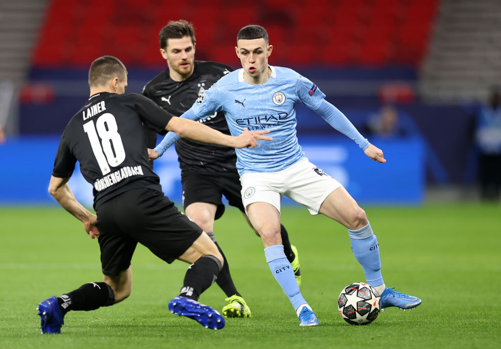 Manchester City v Borussia Moenchengladbach - UEFA Champions League Round Of 16 Leg Two