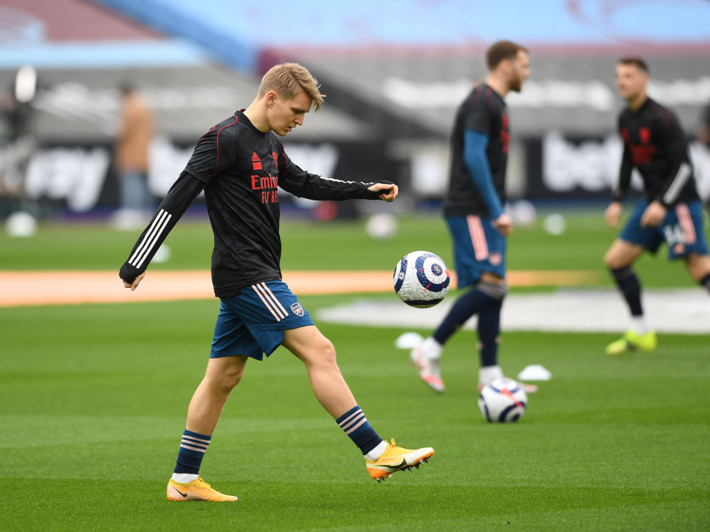 Arsenal target Martin Odegaard is reportedly set to stay at Real Madrid