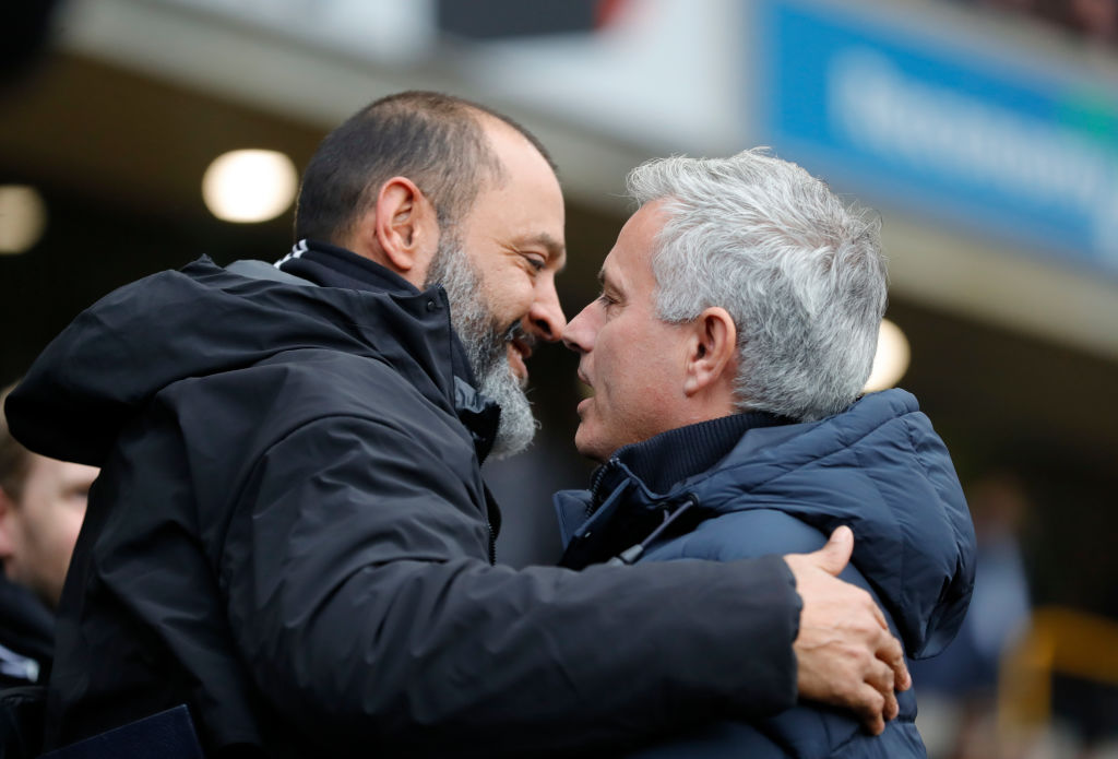 Jose Mourinho was sacked by the club in April.