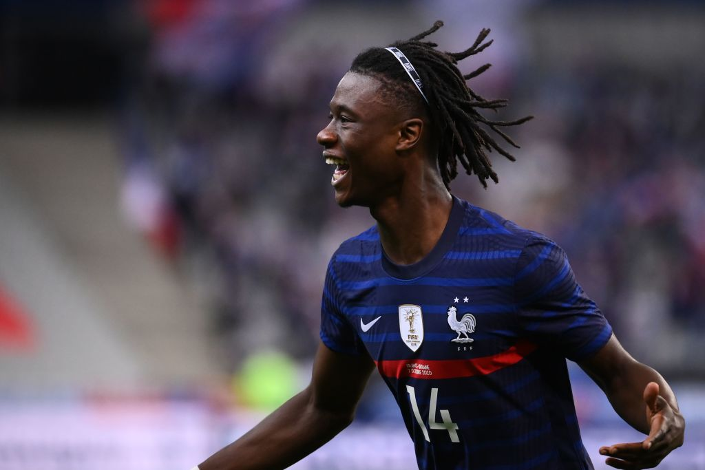 The teenager has already played for France at senior level.