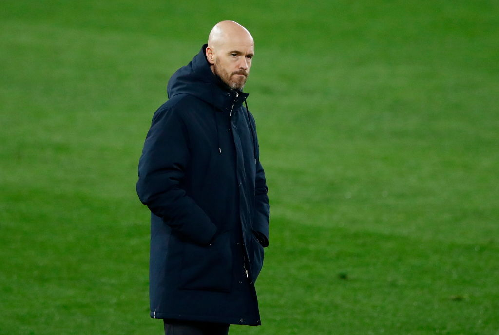 Ten Hag is a wanted man with Tottenham keen.